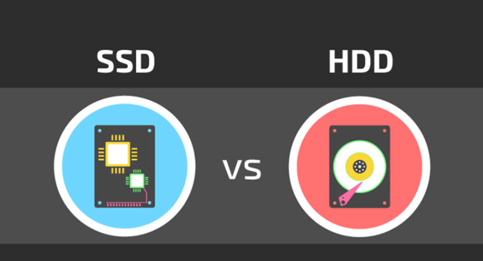 What is the difference between SSD and HDD?